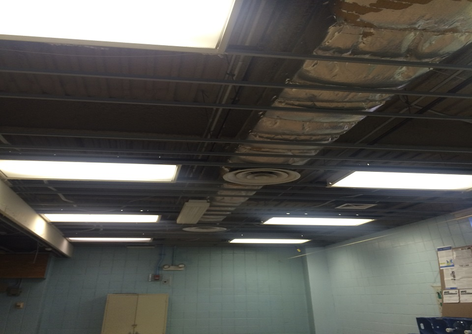 All ceiling tile removed from stage_1.jpg